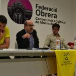 L'assemblea groga es reactiva amb una xerrada sobre les conseqüències de la LOMCE