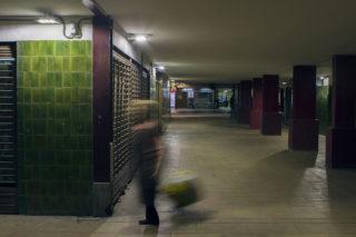 Imatge d'un dels carrers del barri del Canal amb els nous led // Ajuntament de Molins de Rei