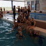 La natació sincronitzada del CN Molins de Rei segueix progressant