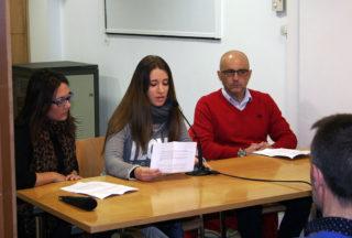 Representants de Molins.cat llegit el manifest // Molins.cat