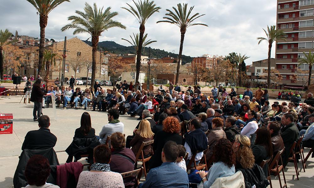Més de 200 persones es van reunir al Parc Pont de la Cadena // Jose Polo