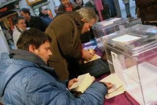 Imatge del recompte de la votació // Jose Polo