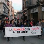 El moviment feminista surt al carrer amb motiu del 8 de març