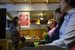 Una trentena de persones van assistir a l'acte // Elisenda Colell