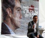Joan Ramon Casals durant l'acte de presentació com a candidat de CiU // David Guerrero