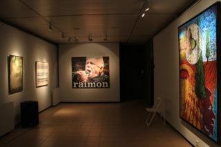 Les obres de Pep Cañada, Jordi Sarrate, Alfred Bofill i Francana obren l'exposició // Jordi Julià