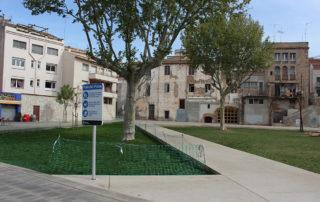 El Pati del Palau on es realitzarà la Fira del Llibre en Català // Jose Polo