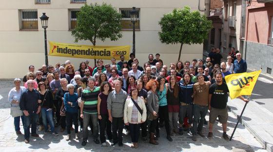 Els 31 integrants de la llista de la CUP per a les pròximes municipals // Laura Herrero