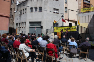 El Racó dels Gegants Vells durant la presentació de la llista // Laura Herrero