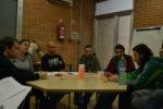 D'esquerra a dreta, Xavi Aros, Lídia Calomardo, Rubén Navarro, Asier Baiona, Alex Maymó i Sergi Sánchez // Elisenda Colell