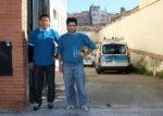 Dos treballadors subcontractats per Telefònica a la central de Molins de Rei // Jose Polo