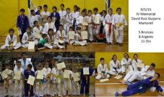 Collage del torneig // judo CE Molins de Rei