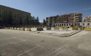Imatge de la nova zona d'aparcament de Ca n'Iborra // Jose Polo