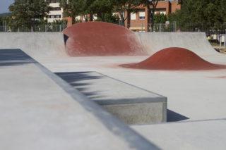 Imatge del nou skatepark // AJuntament de Molins de Rei