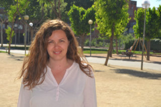Ana Aroca, candidata de l'alcaldia de la candidatura Molins Camina // Elisenda Colell