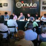 Els partits partidaris del dret a decidir es mullen sobre la independència a l'Ateneu Mulei