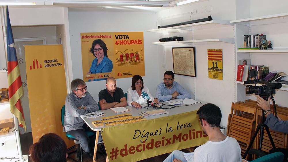 D'esquerra a dreta: Toni de la Flor, Marc Rebulà, Sílvia Guillén i Eduard Suárez // Jose Polo