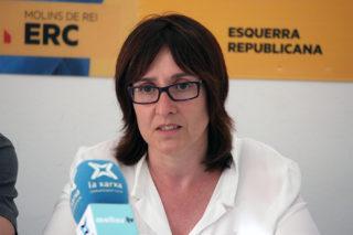 Sílvia Guillén durant la roda de premsa de presentació del programa // Jose Polo