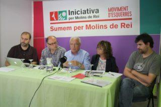 D'esquerra a dreta: Arnau Funes (Cornellà), Jordi San José (Sant Feliu), Pere Garcia (Molins de Rei), Ascen Ratia (Pallejà) i Jordi Gil (Sant Vicenç) // David Guerrero