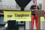 David Fernández, diputat de la CUP, ha estat qui més gent ha aplegat durant la campanya electoral // David Guerrero
