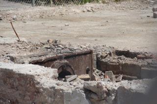 Amb l'enderroc part de la maquinària del soterrani ha quedat a la intempèrie // Jordi Julià