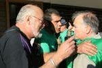 Emilio Ramos, regidor sortint del PP, discutint amb un membre de la PAH // David Guerrero