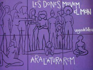 Imatge del cartell de la convocatòria //Les Heures-Grup de Dones