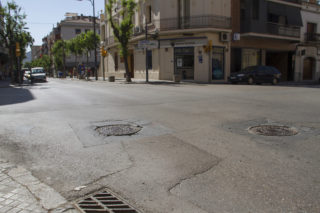 Cruïlla del carrer Verdaguer amb Anselm Clavé // Jose Polo