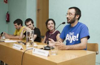Albert Botran demanant un ple més obert // Ajuntament de Molins de Rei