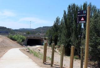 Imatge del nou accés al riu Llobregat // Jose Polo