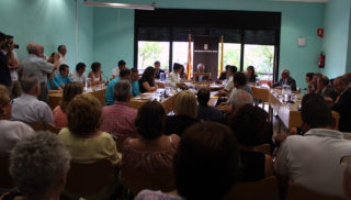 Imatge de la Sala de Plens durant el ple de constitució // Jose Polo