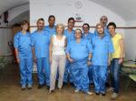 Un grup d'alumnes d'un dels cursos amb les seves professores // Jose Polo
