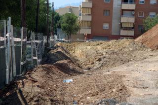 Imatge la rasa feta al barri de Les Guardioles // Jose Polo