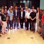 11 dels 21 regidors de l'Ajuntament de Molins de Rei s'acomiaden del ple municipal