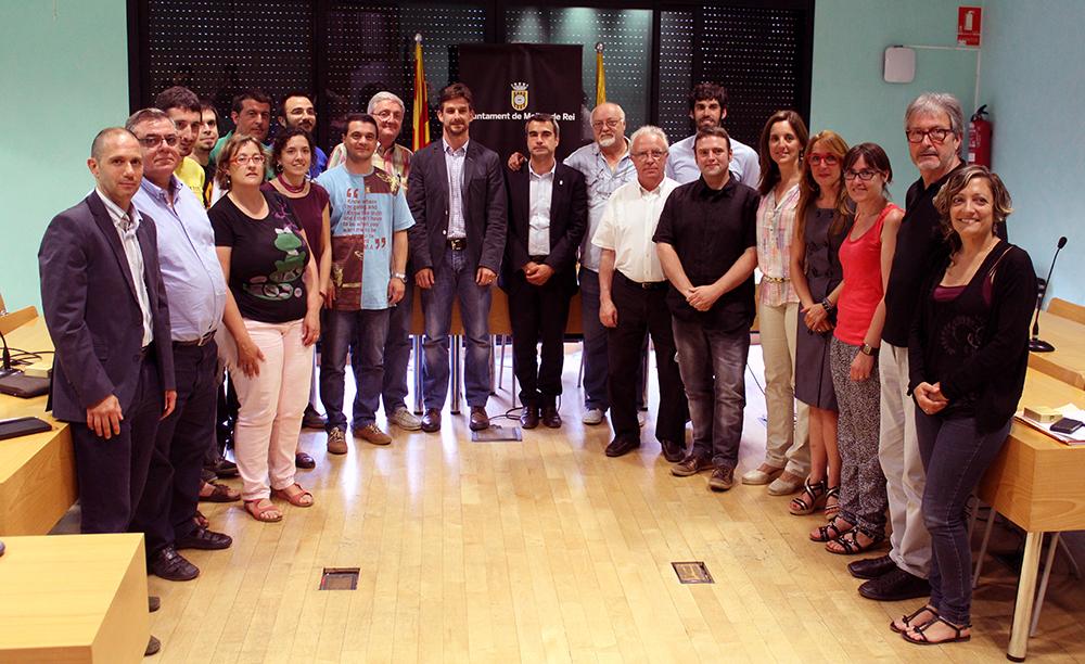 Els 21 regidors de l'últim ple municipal de la legislatura // Jose Polo