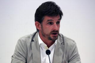 Xavi Paz durant l'acte // Jose Polo