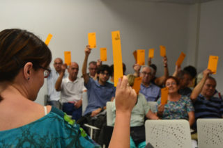 Silvia Guillén ha vist ratificada la seva opció de pacte // Elisenda Colell