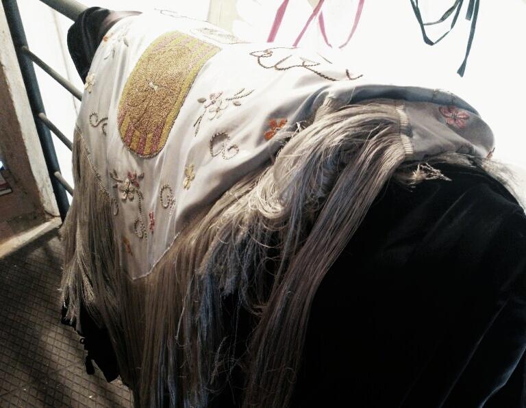 Vestit antic dels Gegants Nous // Jose Polo