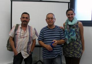 D'esquerra a dreta: Vaos, Romero i Sabbarese // Jose Polo