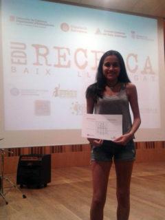L'Olga Romero al Palau Falguera de Sant Feliu de Llobregat // Bernat el Ferrer