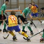 La selecció catalana d'hoquei patins visita Molins de Rei
