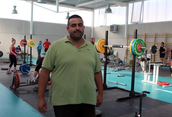 David Soria a les noves instal·lacions del CH Molins de Rei // Jose Polo