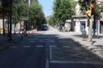 El carrer Verdaguer obert a la circulació // Jose Polo