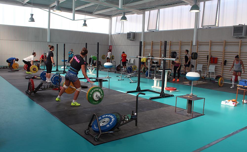 La nova sala d'halterofília de Molins de Rei // Jose Polo