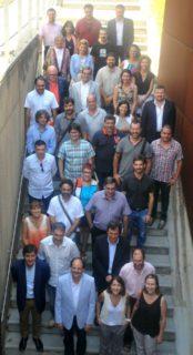 Fotografia amb tots els consellers del Baix Llobregat // Consell Comarcal del Baix Llobregat