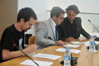 Roger Castillo és el portaveu de la CUP al Consell Comarcal // Consell Comarcal del Baix Llobregat