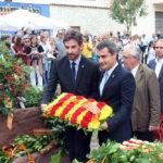 El discurs de Joan Ramon Casals durant la Diada irrita al seu soci del govern