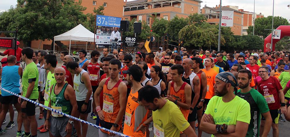 Ambient en la sortida de la cursa de 10km tot i la baixa de la participació // Jose Polo