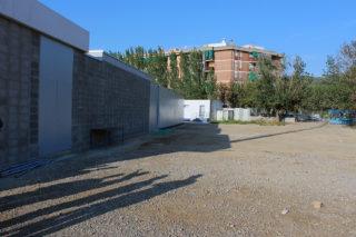 Espai on estarà situat el segon pavelló de la Zona Esportiva Ricard Ginebreda // Jose Polo