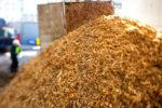 Detall de biomassa // Veolia